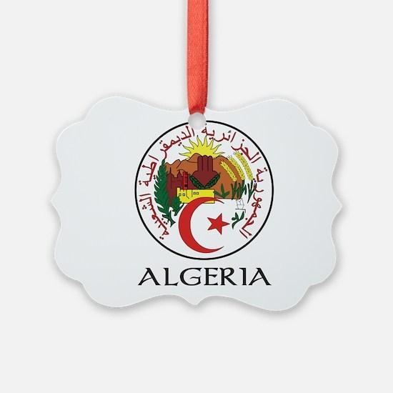 Coat of Arms of Algeria Ornament