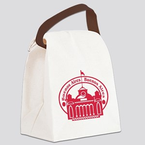 Buenos Aires Passport Stamp Canvas Lunch Bag