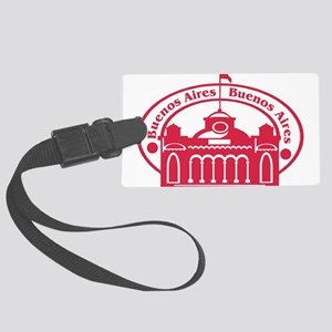 Buenos Aires Passport Stamp Large Luggage Tag