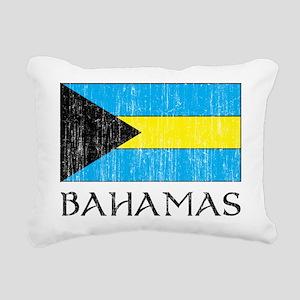 Bahamas Flag Rectangular Canvas Pillow