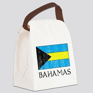 Bahamas Flag Canvas Lunch Bag