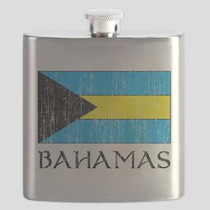 Bahamas Flag Flask