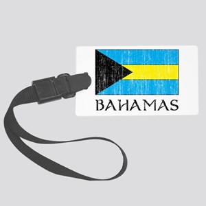 Bahamas Flag Large Luggage Tag