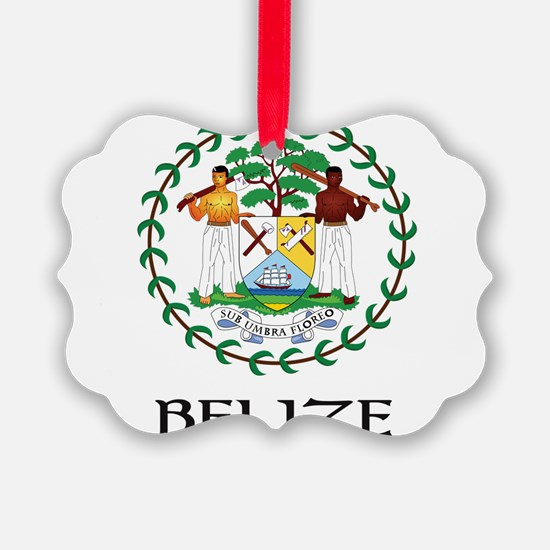 Coat of arms of Belize Ornament