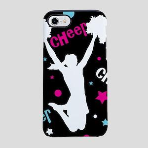 Black | Multi Cheerleader Chee iPhone 7 Tough Case