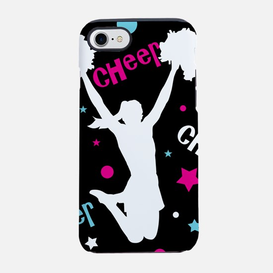 Black | Multi Cheerleader Chee iPhone 7 Tough Case