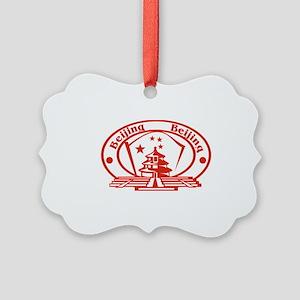 Beijing Passport Stamp Picture Ornament