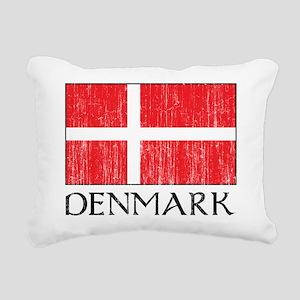 Denmark Flag Rectangular Canvas Pillow