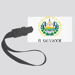 Coat of Arms of El Salvador Large Luggage Tag
