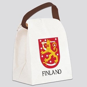 Coat of Arms of Finland Canvas Lunch Bag