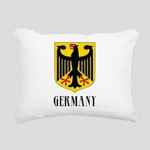 German Coat of Arms Rectangular Canvas Pillow
