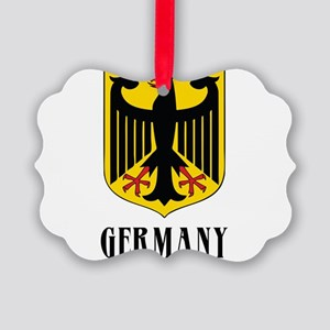 German Coat of Arms Picture Ornament
