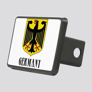 German Coat of Arms Rectangular Hitch Cover