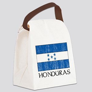 Honduras Flag Canvas Lunch Bag