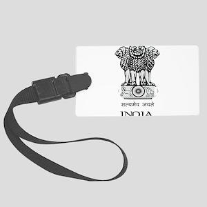Emblem of India Large Luggage Tag