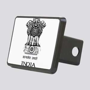 Emblem of India Rectangular Hitch Cover