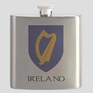 Coat of arms of Ireland Flask