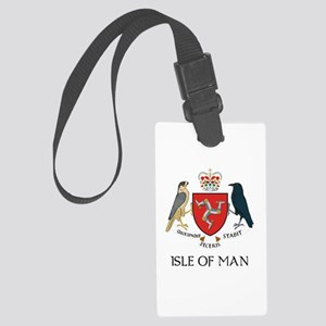 Isle of Man coat of arms Large Luggage Tag
