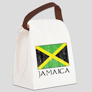 Jamaica Flag Canvas Lunch Bag