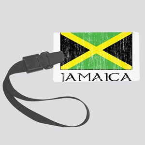 Jamaica Flag Large Luggage Tag