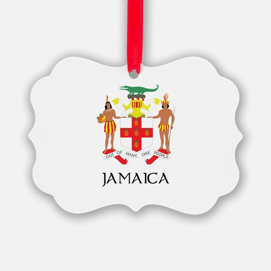 Coat of Arms of Jamaica Ornament