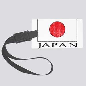 Japan Flag Large Luggage Tag
