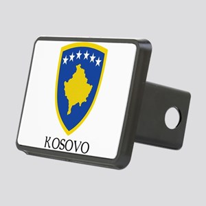 Coat of arms of Kosovo Rectangular Hitch Cover