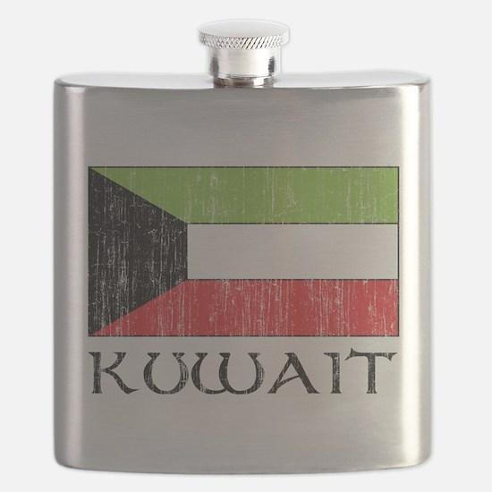 Kuwait Flag Flask