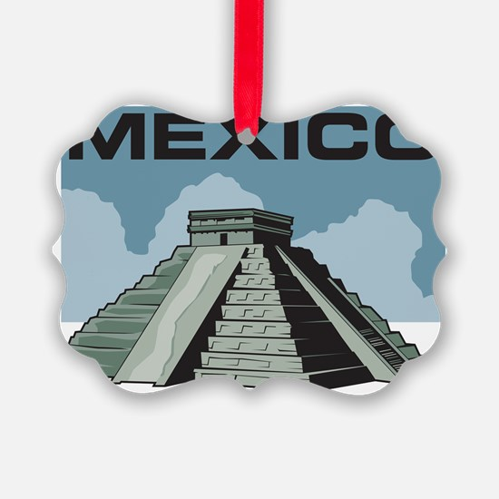 Mexico Pyramid Ornament