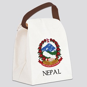 Coat of arms of_Nepal Canvas Lunch Bag