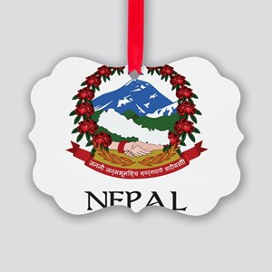 Coat of arms of_Nepal Picture Ornament