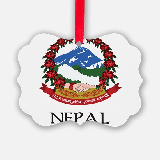 Coat of arms of_Nepal Ornament