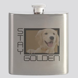 Stay Golden Flask