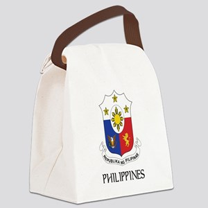 Philippines Coat of Arms Canvas Lunch Bag