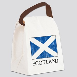 Scotland Flag Canvas Lunch Bag