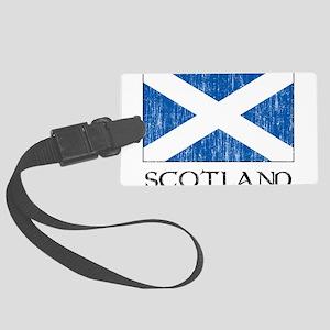 Scotland Flag Large Luggage Tag