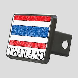 Thailand Flag Rectangular Hitch Cover