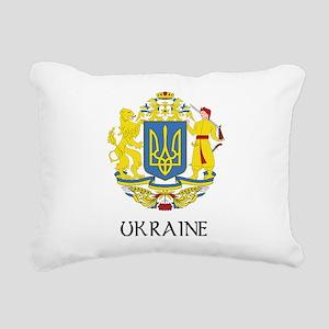 Coat of Arms of Ukraine Rectangular Canvas Pillow
