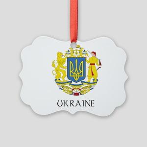 Coat of Arms of Ukraine Picture Ornament