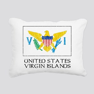 United States Virgin Islands Flag Rectangular Canv