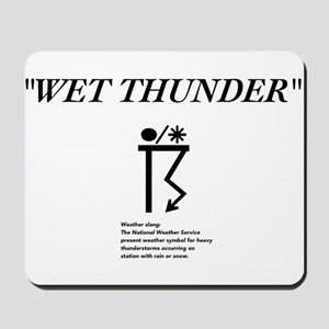 Wet Thunder Mousepad