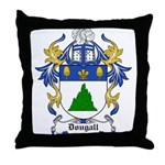 Dobbie Coat of Arms Throw Pillow