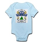 Dobbie Coat of Arms Infant Creeper