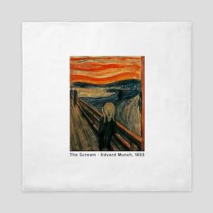 The Scream, Edvard Munch, Queen Duvet