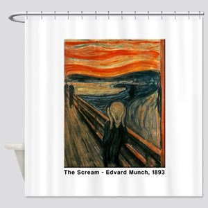 The Scream, Edvard Munch, Shower Curtain