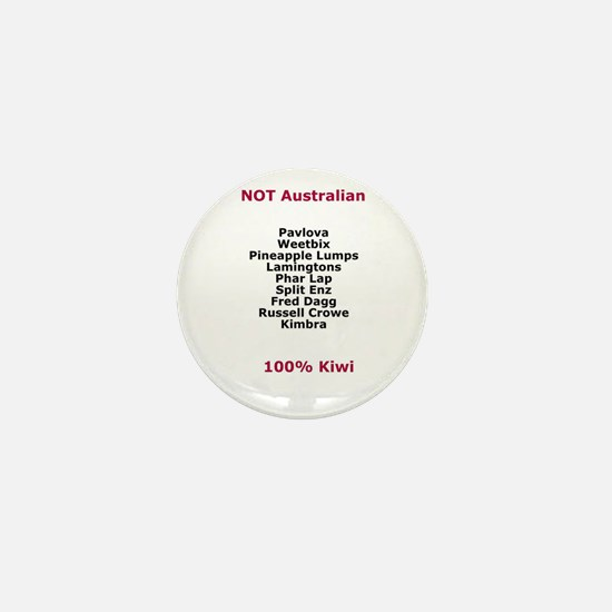 NOT Australian Mini Button