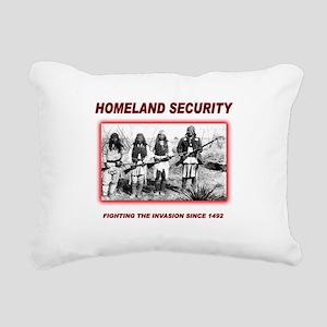 Homeland Security Native Rectangular Canvas Pillow