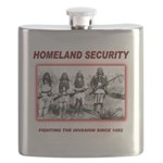 Homeland Security Native Flask