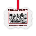 Homeland Security Native Picture Ornament