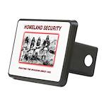 Homeland Security Native Rectangular Hitch Cover